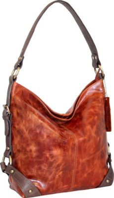 Nino Bossi Feed Me Shoulder Bag Cognac - Nino Bossi Leather Handbags