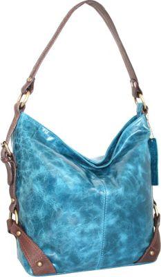 Nino Bossi Feed Me Shoulder Bag Denim - Nino Bossi Leather Handbags