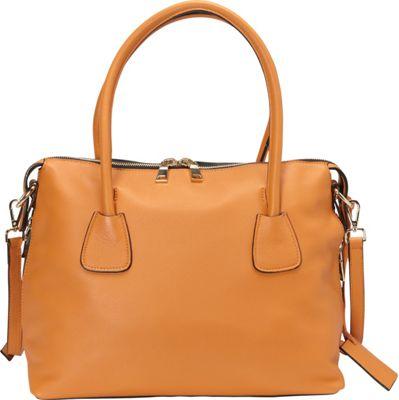 Donna Bella Designs Colette Tote Orange - Donna Bella Designs Leather Handbags