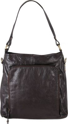 Latico Leathers Georgette Hobo Espresso - Latico Leathers Leather Handbags