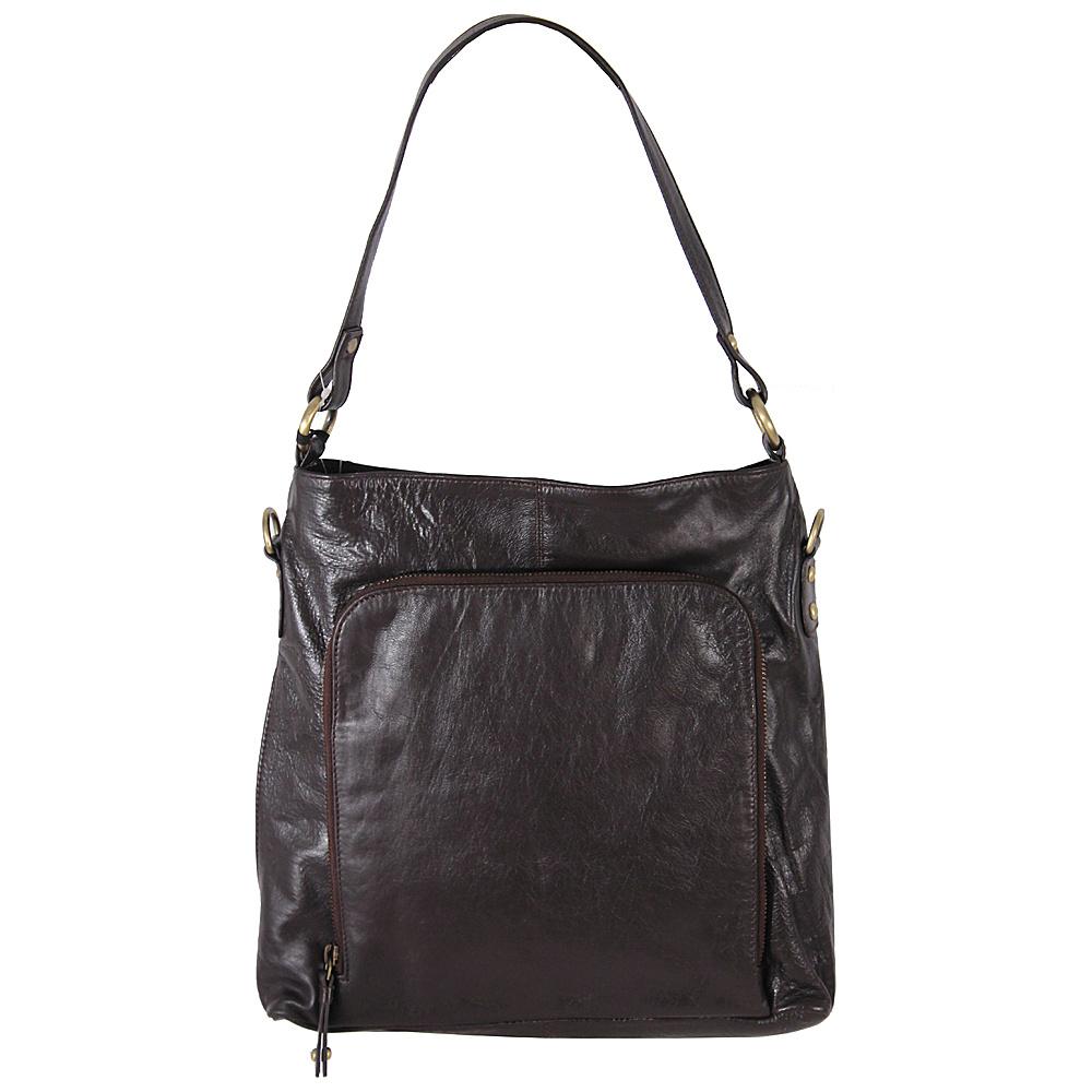 Latico Leathers Georgette Hobo Espresso - Latico Leathers Leather Handbags - Handbags, Leather Handbags