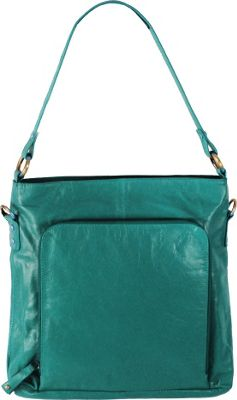 Latico Leathers Georgette Hobo Caribe - Latico Leathers Leather Handbags