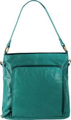 Latico Leathers Georgette Hobo Caribe - Latico Leathers Leather Handbags