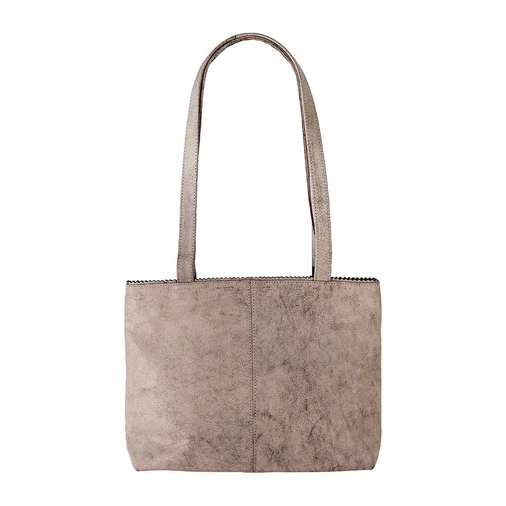 Latico Leathers Giselle Tote Crackle White - Latico Leathers Leather Handbags - Handbags, Leather Handbags