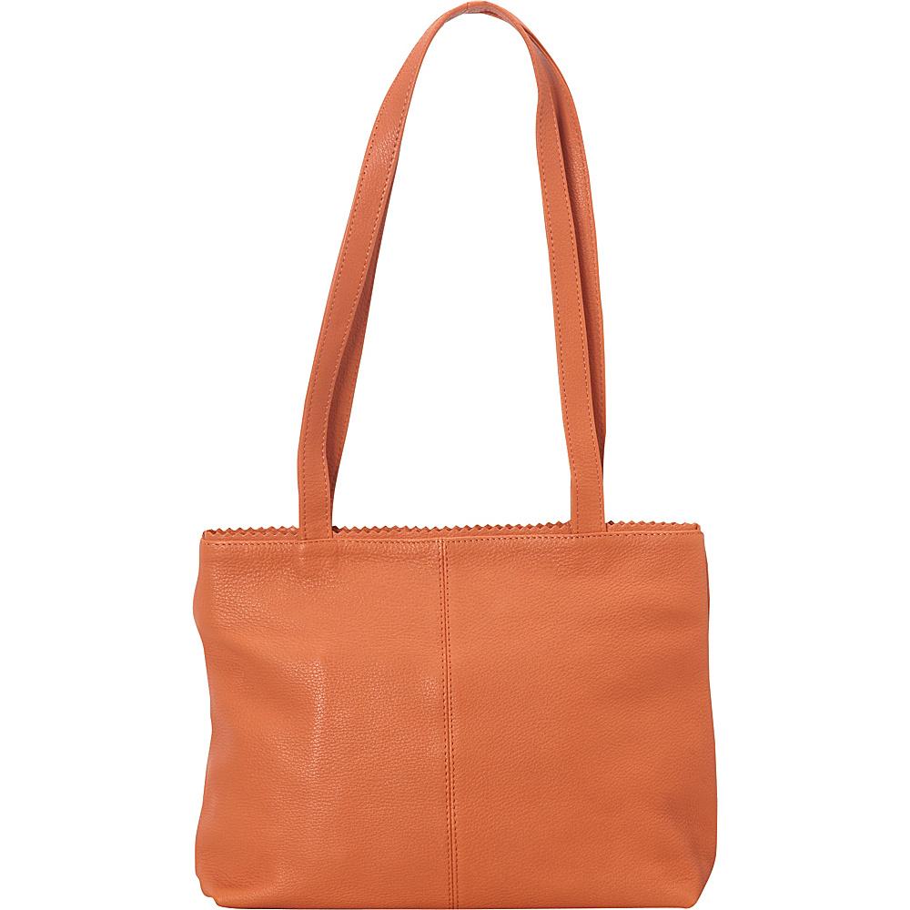 Latico Leathers Giselle Tote Orange - Latico Leathers Leather Handbags - Handbags, Leather Handbags
