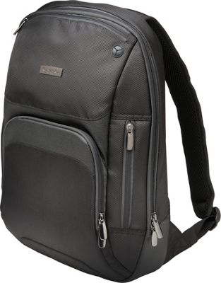 Kensington Triple Trek Ultrabook Optimized Laptop Backpack - 14 inch Black - Kensington Non-Wheeled Business Cases
