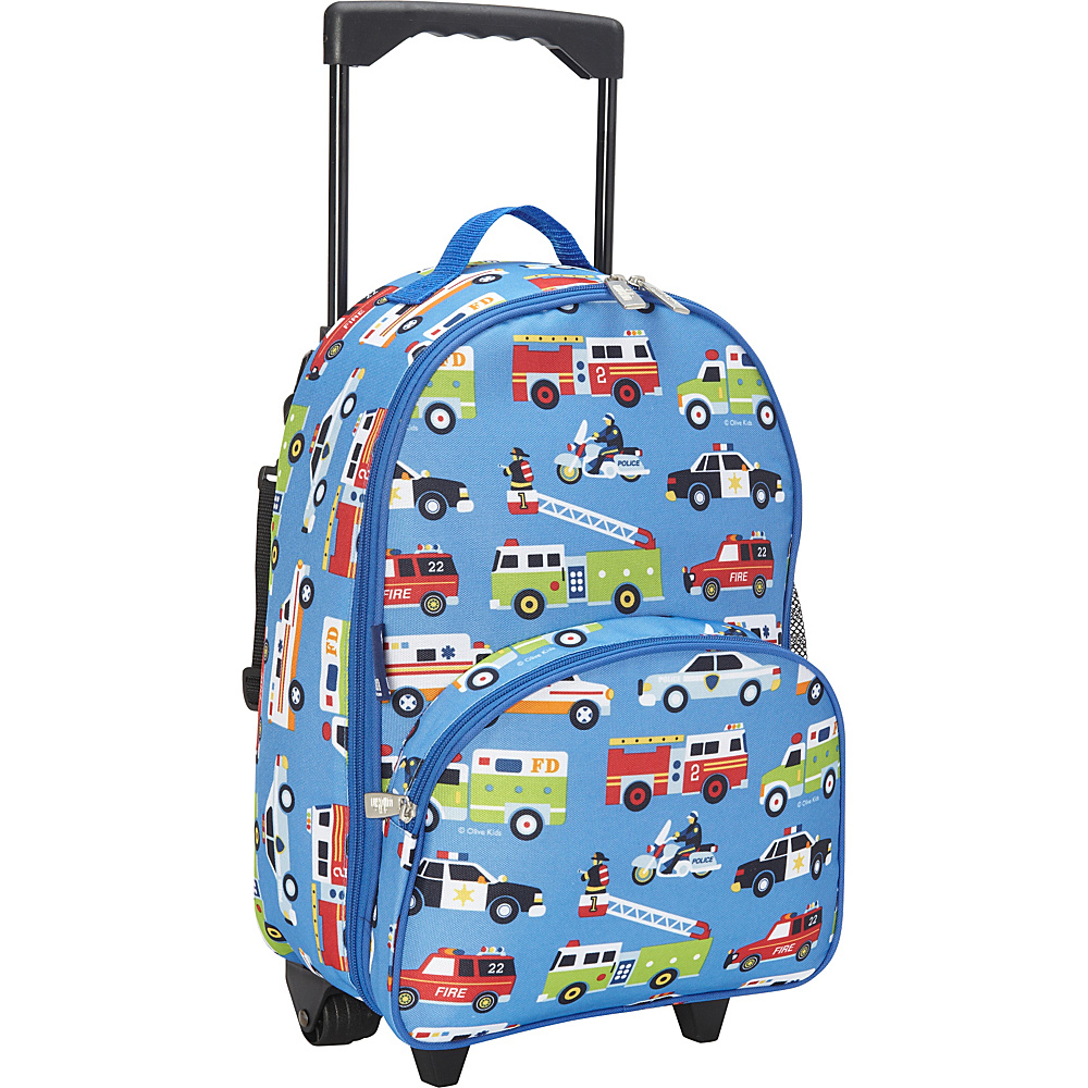 Wildkin Olive Kids Heroes Rolling Luggage Olive Kids Heroes - Wildkin Rolling Backpacks