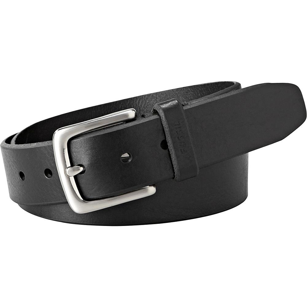 Fossil Joe Belt 44 - Black - Fossil Belts - Fashion Accessories, Belts