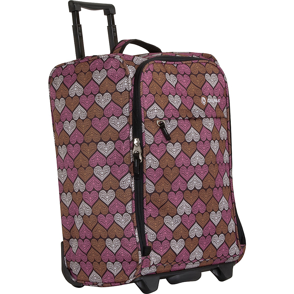 CalPak Zorro Carry On Luggage Mosaic Heart CalPak Softside Carry On