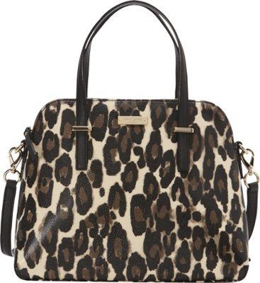 kate spade new york Cedar Street Leopard Maise Decobeige - kate spade new york Designer Handbags