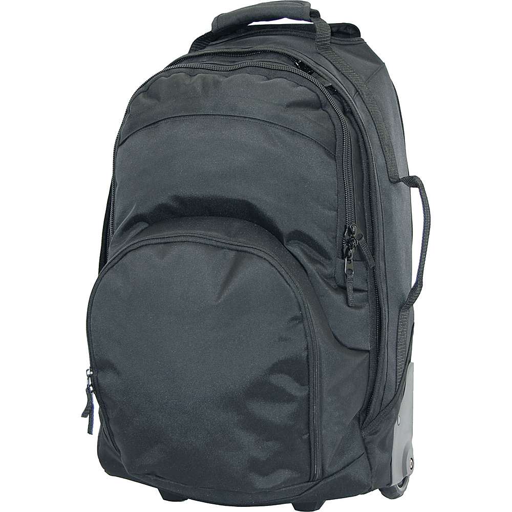 Netpack Multi Pocket Wheel Bag Black Netpack Softside Carry On