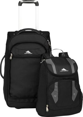 high adventure access carry on wheeled backpack