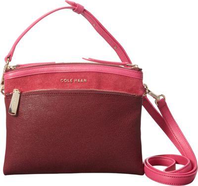 Cole Haan Reddington Crossbody Mahogany Multi - Cole Haan Designer Handbags