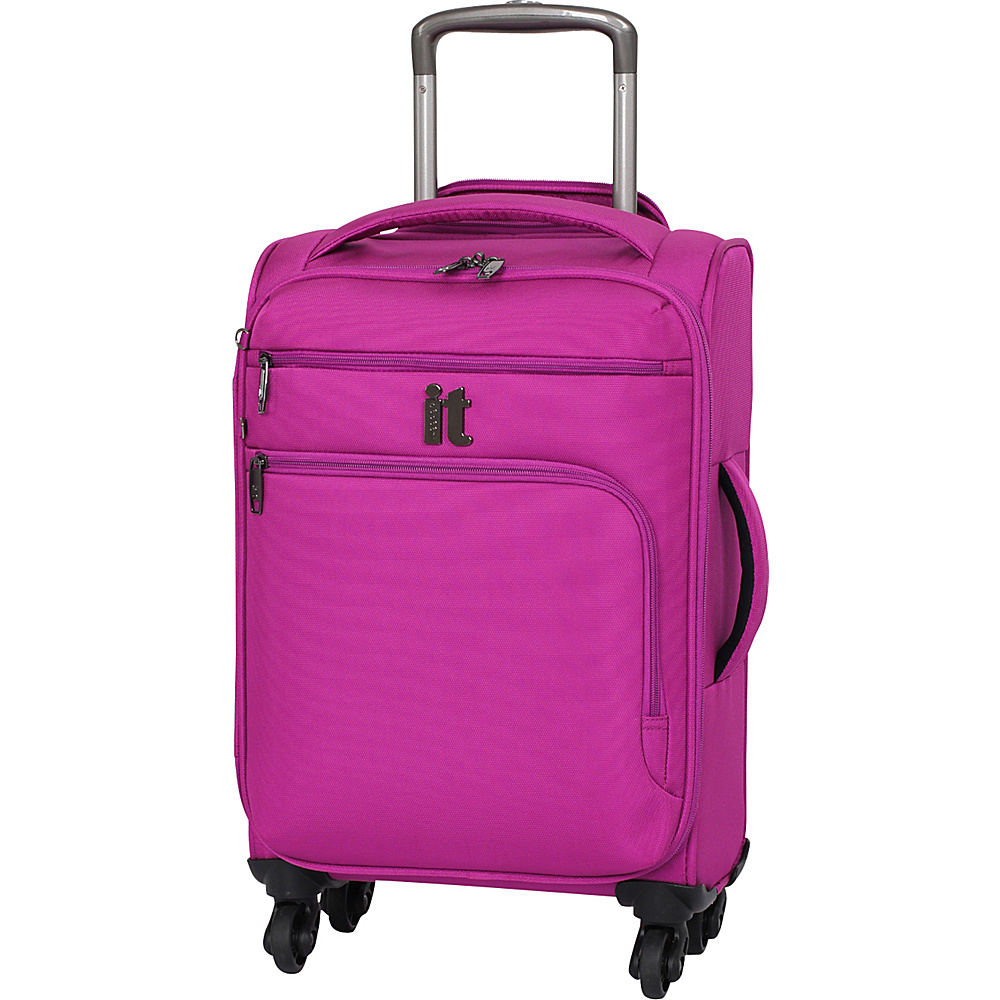 it luggage MegaLite Luggage Collection 21.9 inch Carry On Spinner eBags Exclusive Baton Rouge it luggage Softside Carry On