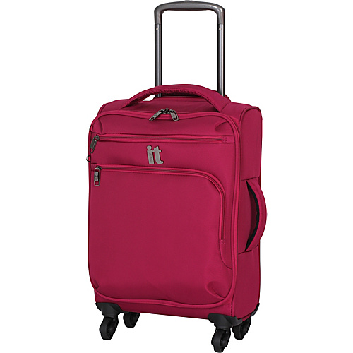 IT Luggage MegaLite Luggage Collection 22 Carry-On Exp. Spinner Cerise - IT Luggage Small Rolling Luggage