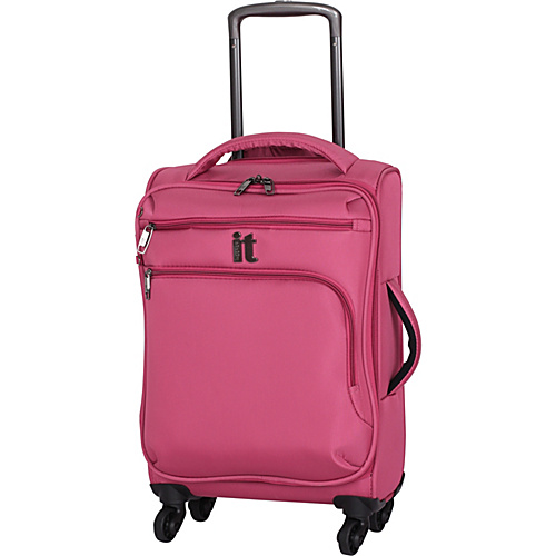 IT Luggage MegaLite Luggage Collection 22 Carry-On Exp. Spinner Slate Rose - IT Luggage Small Rolling Luggage