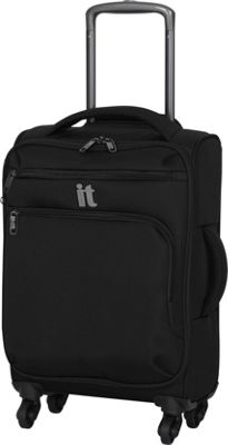 it luggage MegaLite Luggage Collection 21.9 inch Carry On Spinner- eBags Exclusive Black - it luggage Softside Carry-On