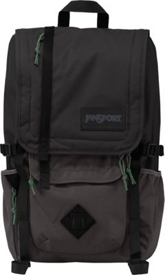 JanSport Hatchet Backpack - 15 inch Grey Tar - JanSport School & Day Hiking Backpacks