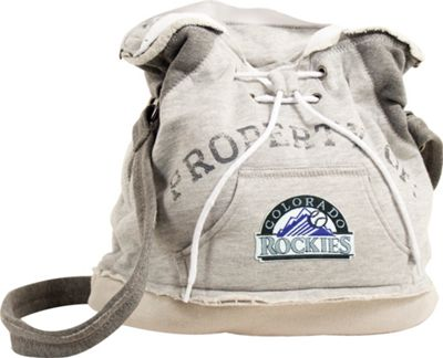 Littlearth Hoodie Shoulder Bag - MLB Colorado Rockies - Littlearth Fabric Handbags