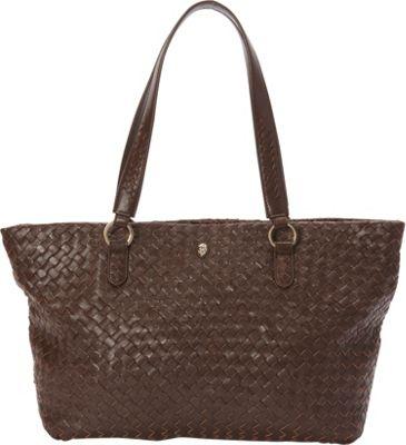 Helen Kaminski Jackie Medium Tote Mocha - Helen Kaminski Designer Handbags