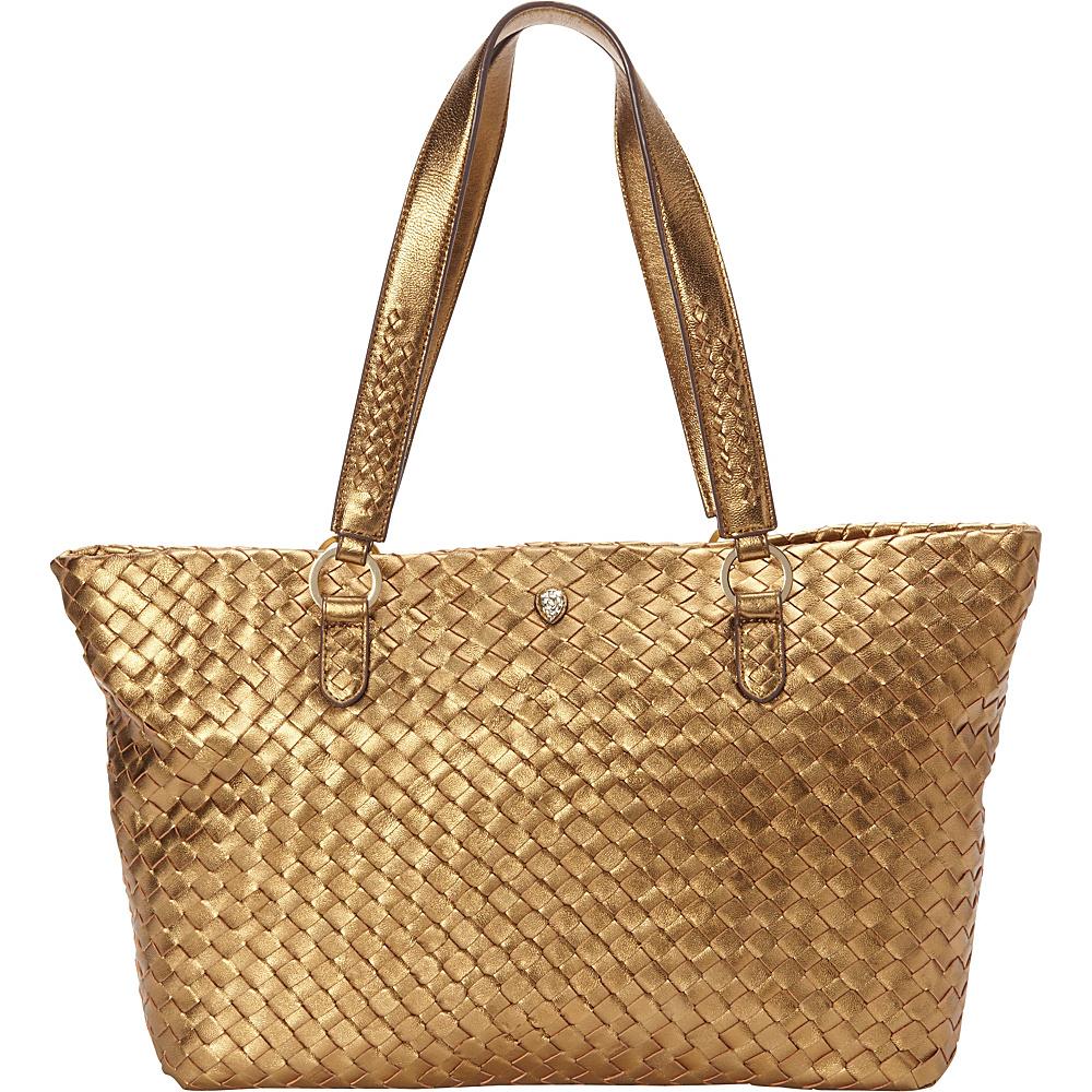 Helen Kaminski Jackie Medium Tote Old Gold - Helen Kaminski Designer Handbags