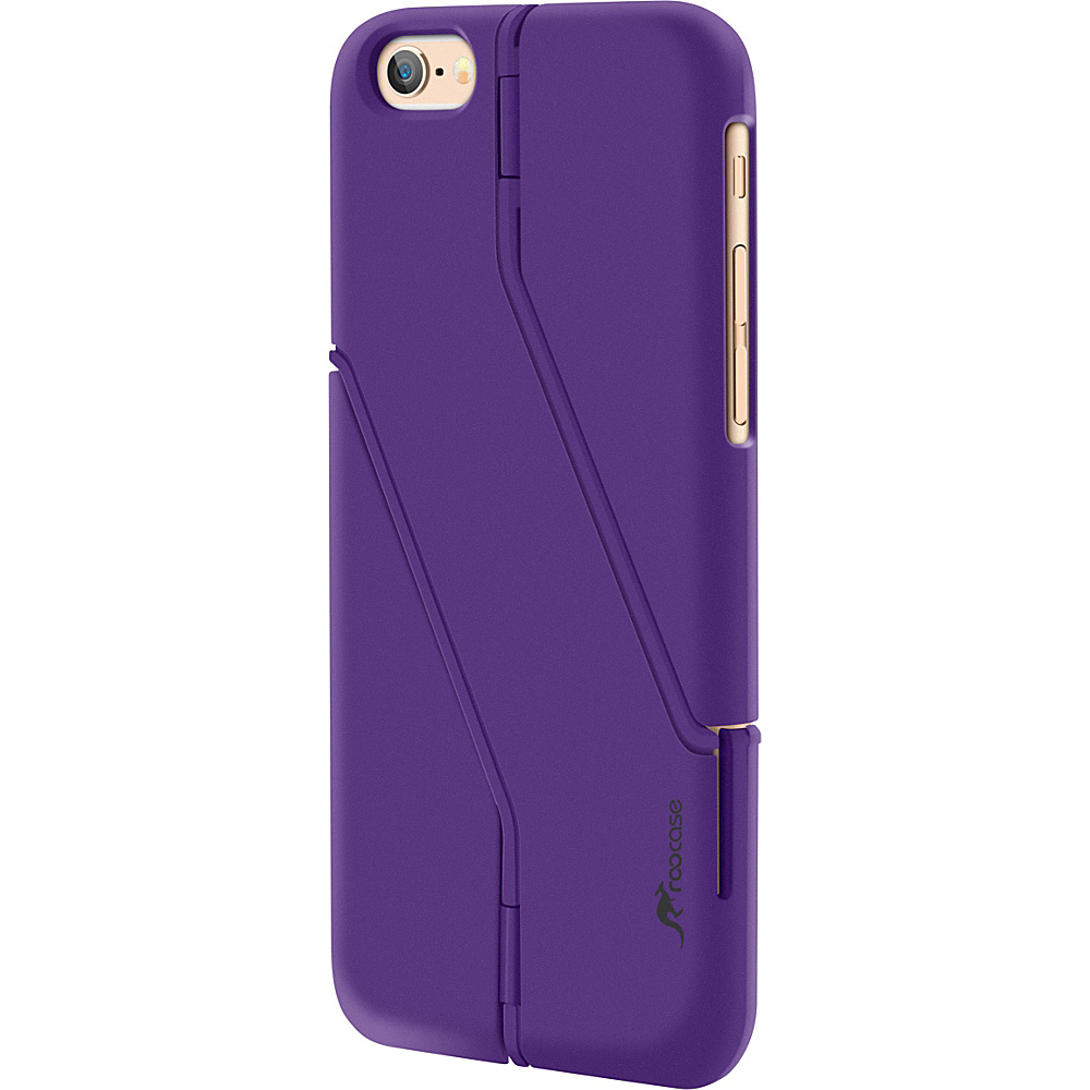 rooCASE Slim Fit Switchback Kickstand Case Cover for iPhone 6 6s 4.7 Purple rooCASE Electronic Cases