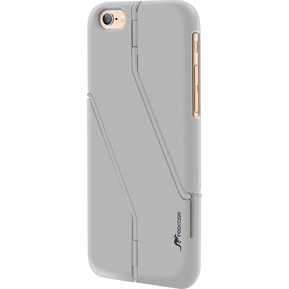 rooCASE Slim Fit Switchback Kickstand Case Cover for iPhone 6 6s 4.7 Silver rooCASE Electronic Cases