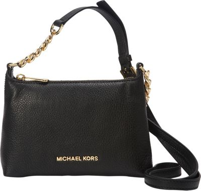 MICHAEL Michael Kors Bedford Crossbody Black - MICHAEL Michael Kors Designer Handbags