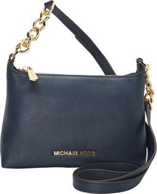MICHAEL Michael Kors Bedford Crossbody Navy - MICHAEL Michael Kors Designer Handbags