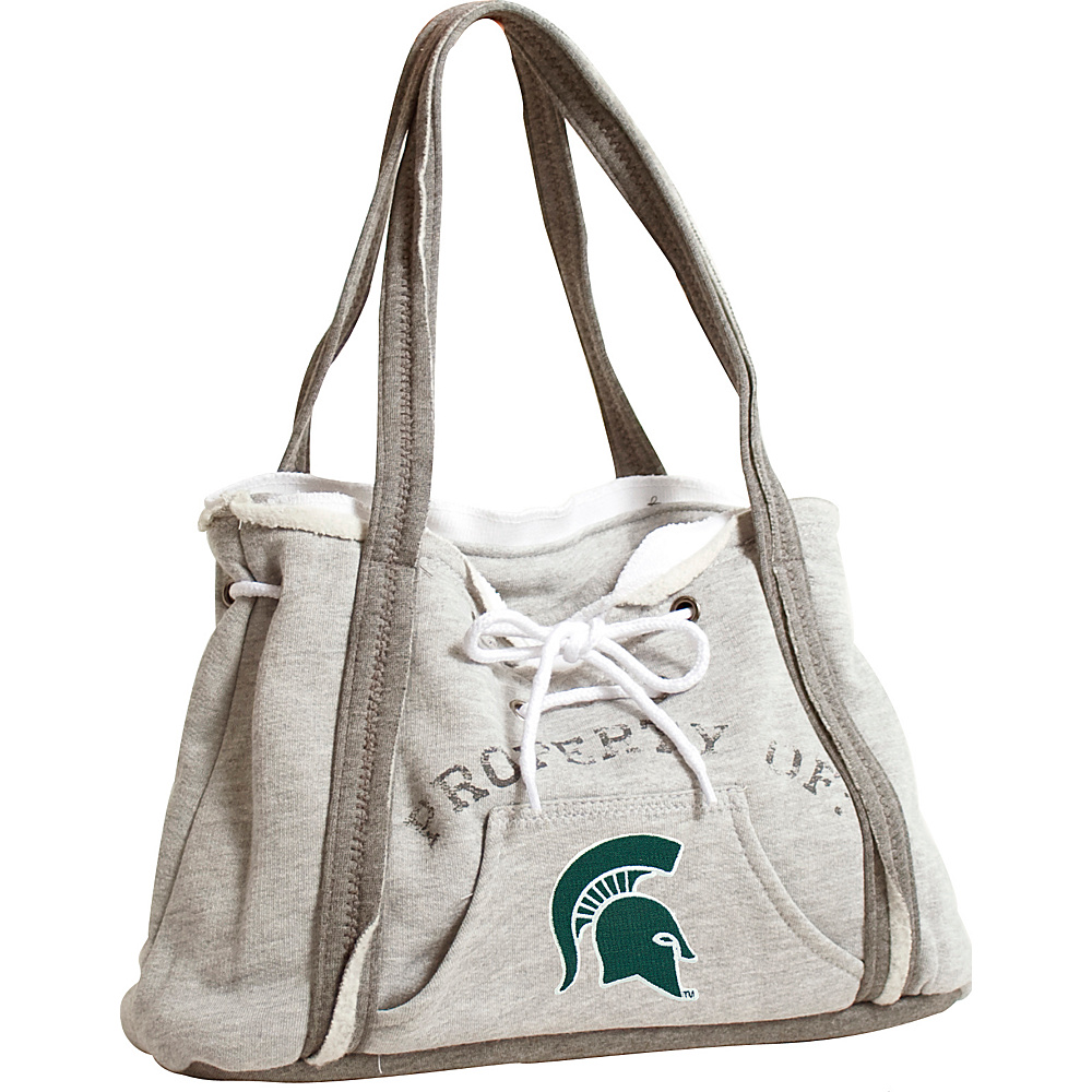 Littlearth Hoodie Purse - Big Ten Teams Michigan State University - Littlearth Fabric Handbags - Handbags, Fabric Handbags