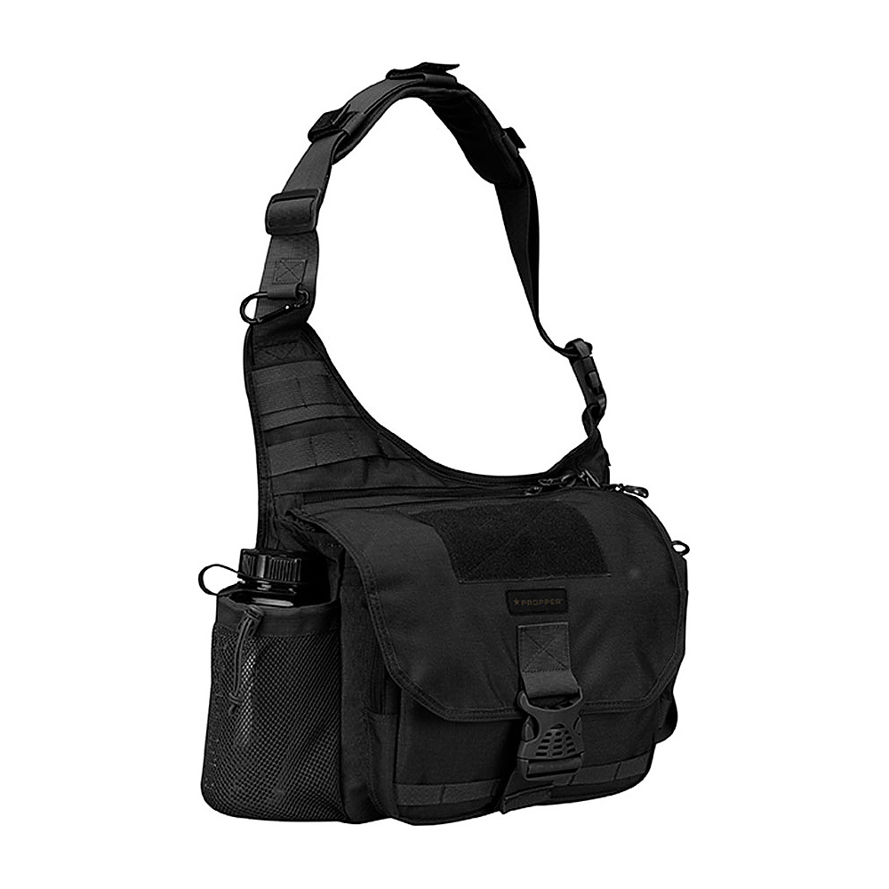 Propper OTS XL Messenger Bag Black Propper Messenger Bags