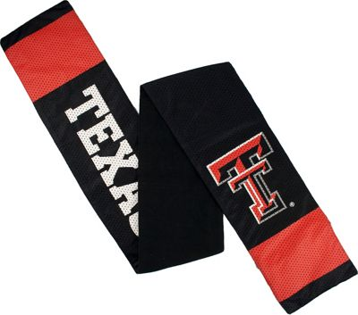 Littlearth Jersey Scarf - Big 12 Teams Texas Tech University - Littlearth Hats/Gloves/Scarves