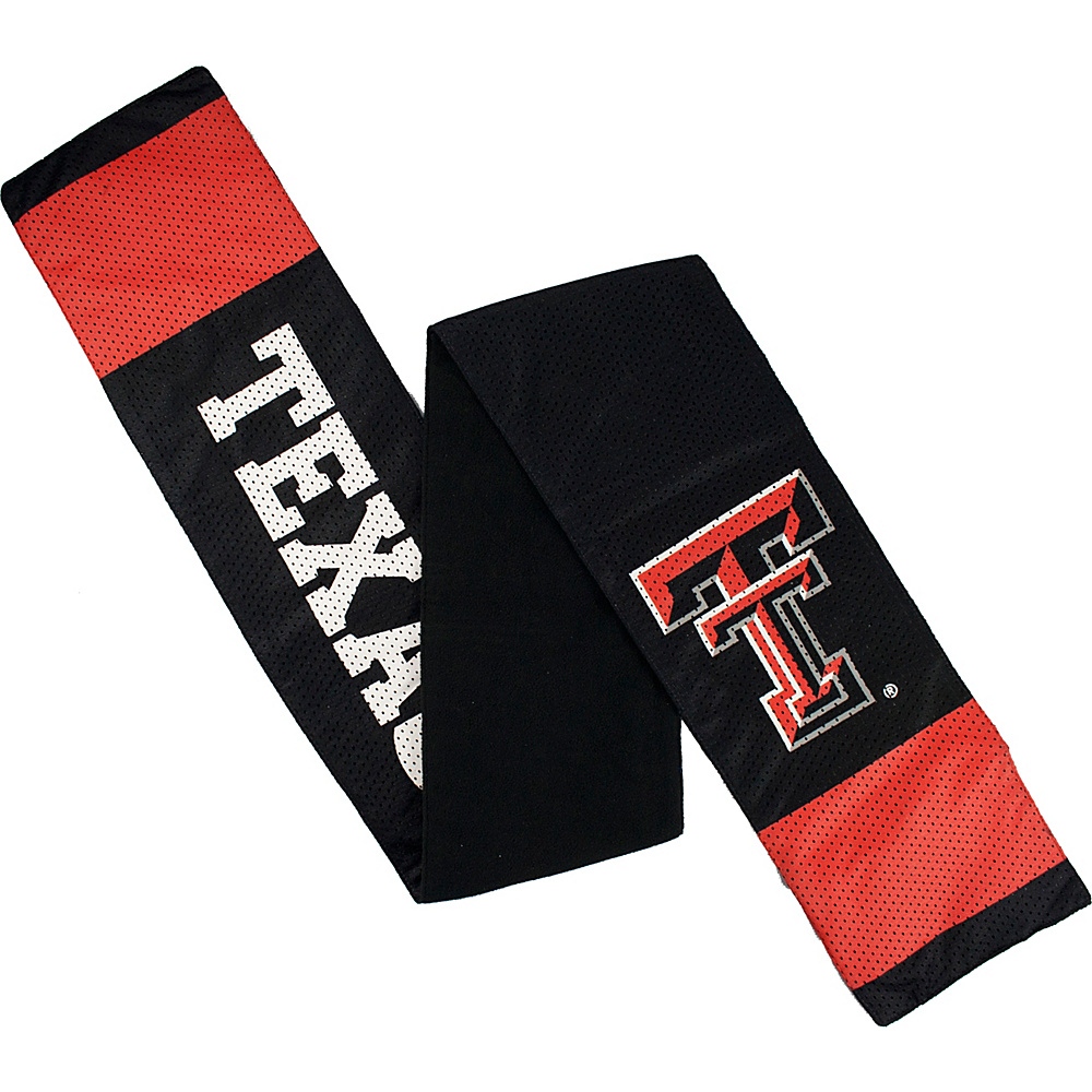 Littlearth Jersey Scarf - Big 12 Teams Texas Tech University - Littlearth Hats/Gloves/Scarves - Fashion Accessories, Hats/Gloves/Scarves