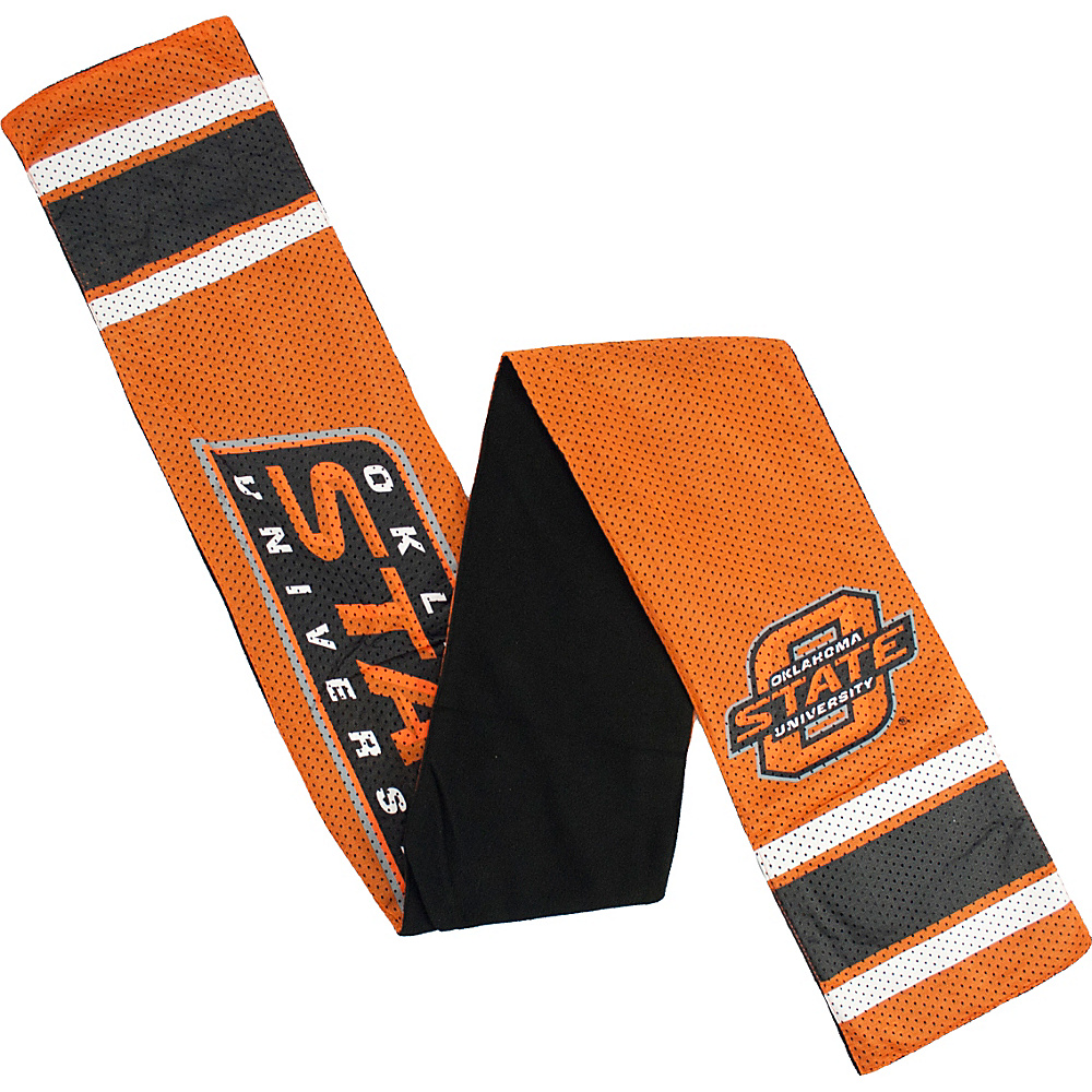 Littlearth Jersey Scarf - Big 12 Teams Oklahoma State University - Littlearth Hats/Gloves/Scarves - Fashion Accessories, Hats/Gloves/Scarves