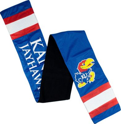 Littlearth Jersey Scarf - Big 12 Teams Kansas, U of - Littlearth Hats/Gloves/Scarves