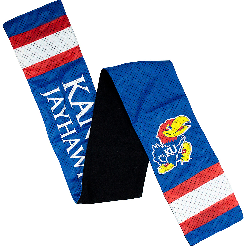 Littlearth Jersey Scarf - Big 12 Teams Kansas, U of - Littlearth Hats/Gloves/Scarves - Fashion Accessories, Hats/Gloves/Scarves