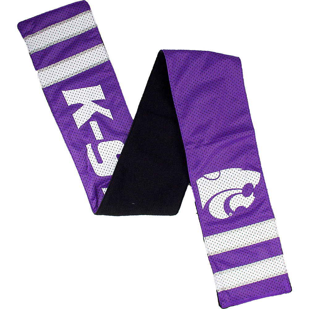 Littlearth Jersey Scarf - Big 12 Teams Kansas State University - Littlearth Hats/Gloves/Scarves - Fashion Accessories, Hats/Gloves/Scarves