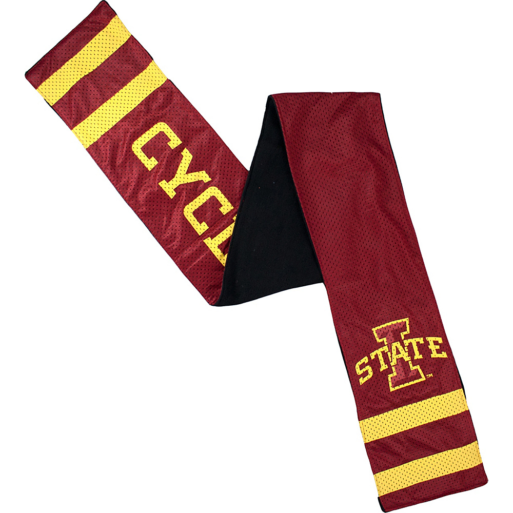 Littlearth Jersey Scarf - Big 12 Teams Iowa State University - Littlearth Hats/Gloves/Scarves - Fashion Accessories, Hats/Gloves/Scarves