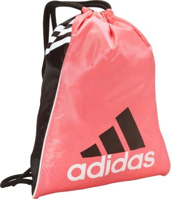 adidas Burst Sackpack Pink Zest - adidas Everyday Backpacks