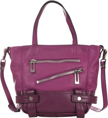 Sanctuary Handbags Magazine Little Tote Plum - Sanctuary Handbags Designer Handbags