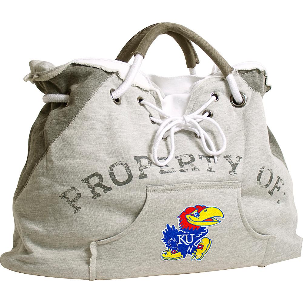 Littlearth Hoodie Tote - Big 12 Teams Kansas, U of - Littlearth Fabric Handbags - Handbags, Fabric Handbags