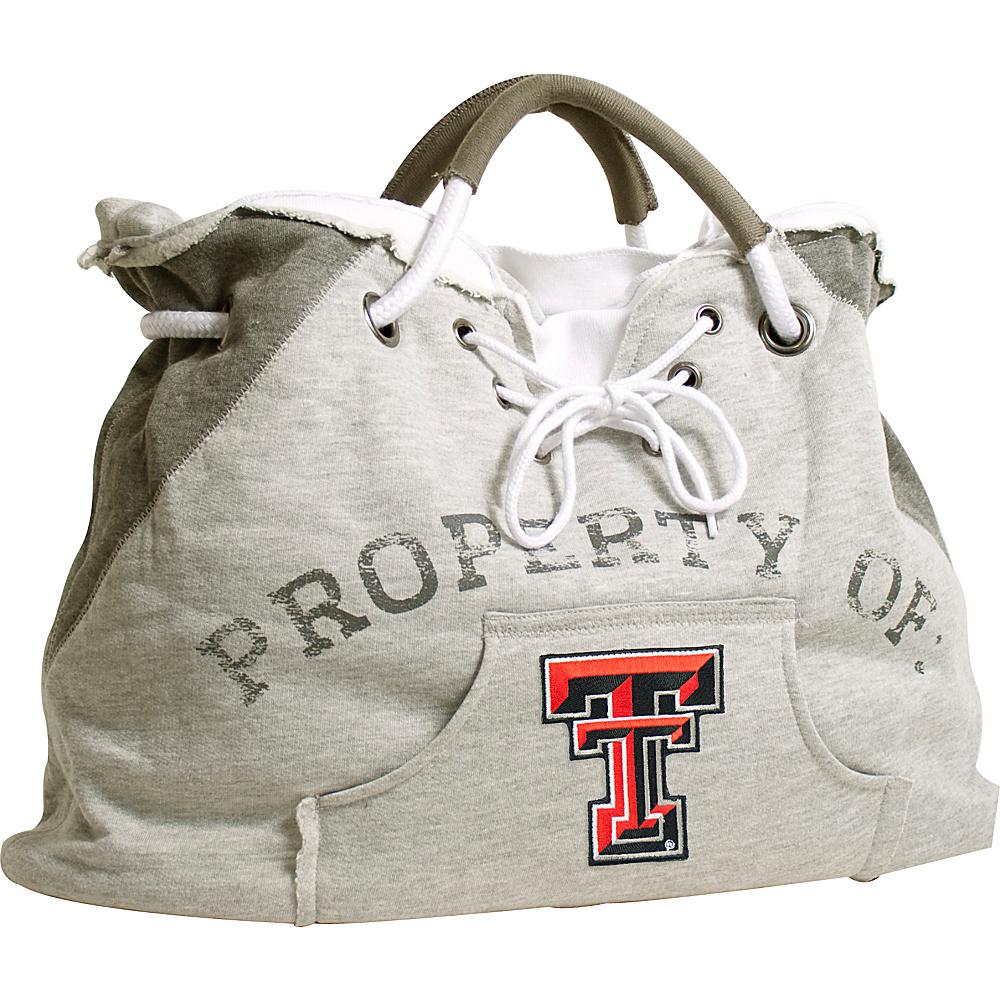 Littlearth Hoodie Tote - Big 12 Teams Texas Tech University - Littlearth Fabric Handbags - Handbags, Fabric Handbags