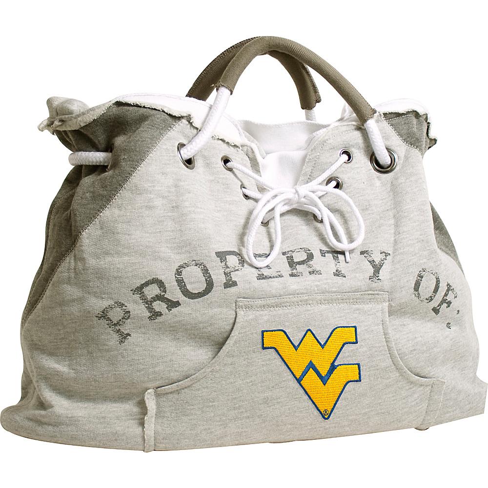 Littlearth Hoodie Tote - Big 12 Teams West Virginia University - Littlearth Fabric Handbags - Handbags, Fabric Handbags