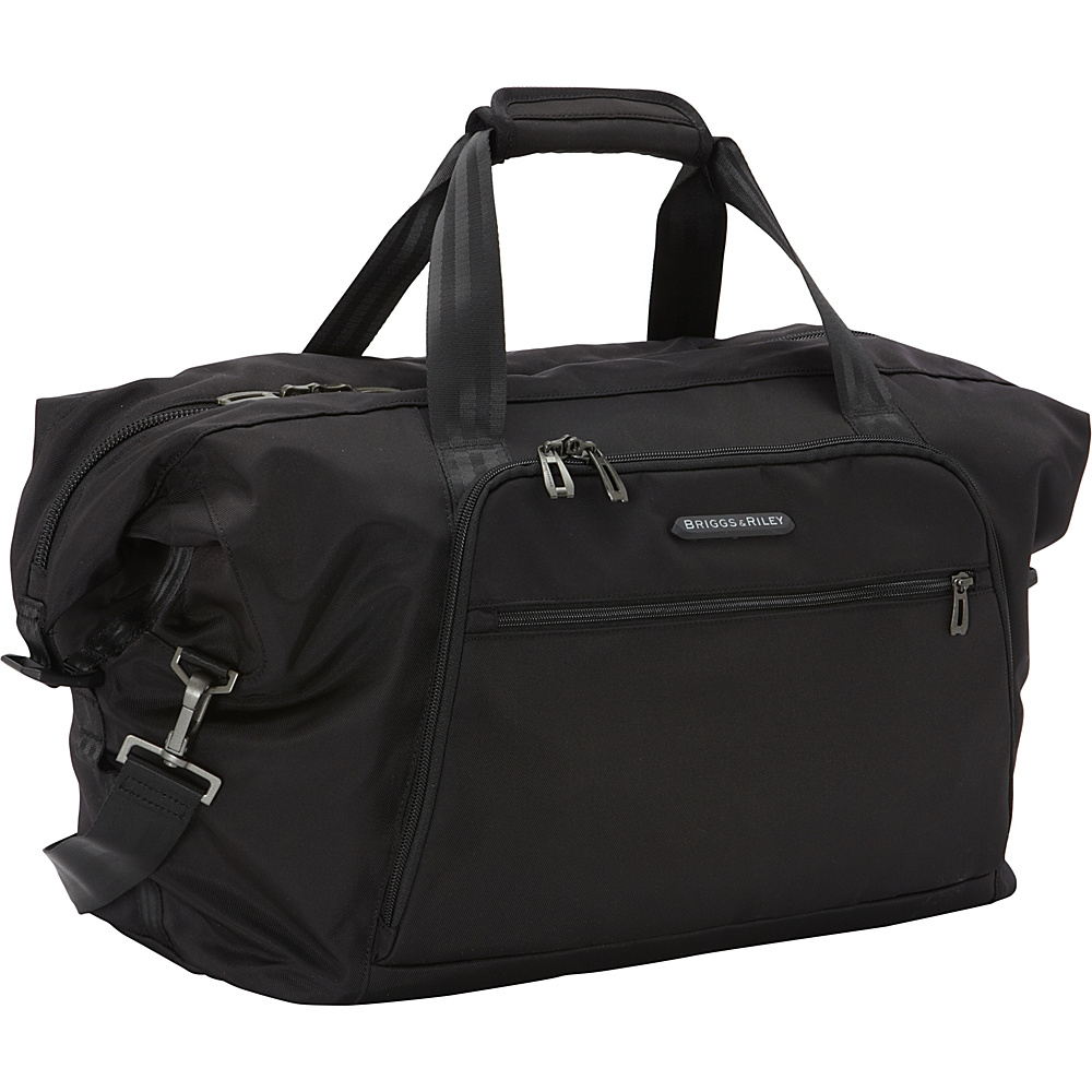 Briggs & Riley Transcend 300 Weekender Shoulder Bag Black - Briggs & Riley Luggage Totes and Satchels