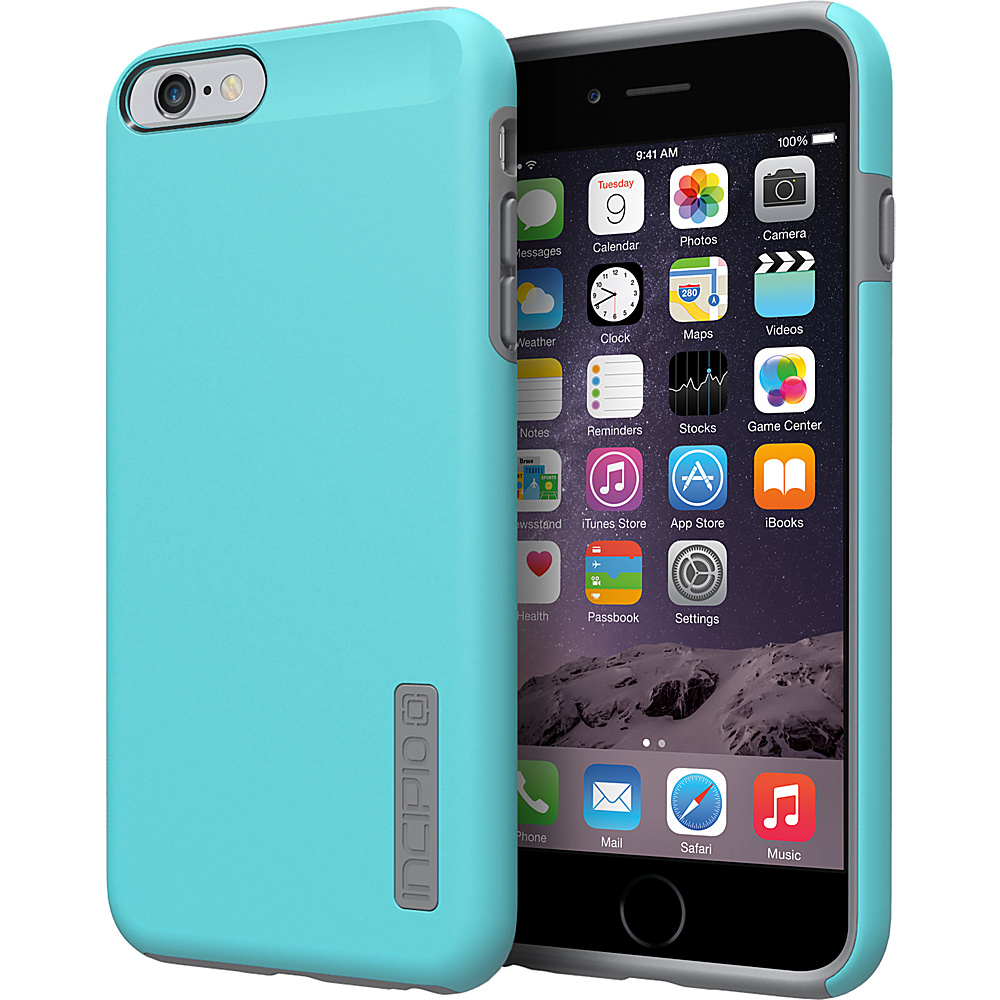 Incipio DualPro iPhone 6/6s Plus Case Cyan/Charcoal - Incipio Electronic Cases - Technology, Electronic Cases