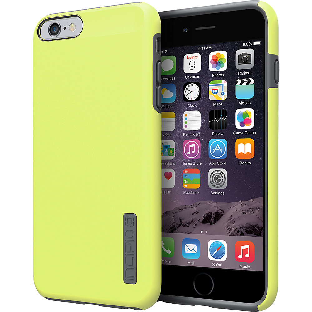 Incipio DualPro iPhone 6/6s Plus Case Lime/Charcoal - Incipio Electronic Cases - Technology, Electronic Cases