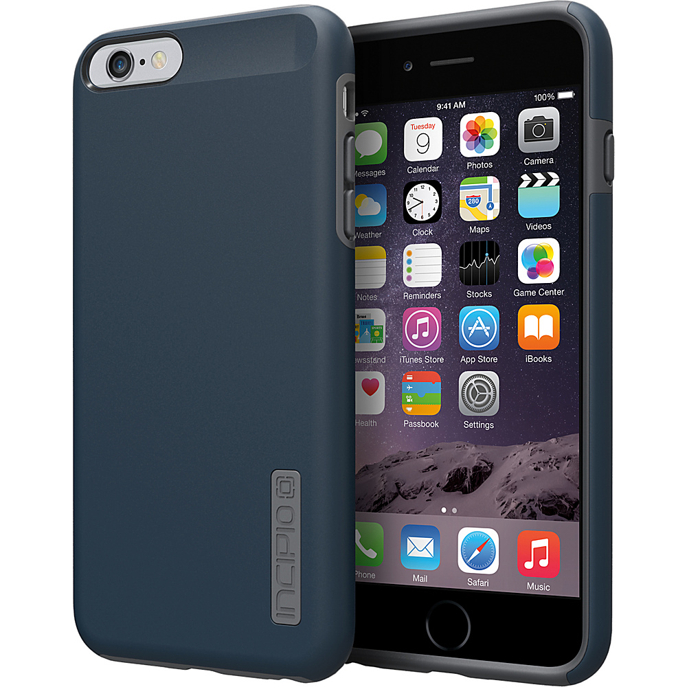 Incipio DualPro iPhone 6/6s Plus Case Navy Blue/Charcoal - Incipio Electronic Cases - Technology, Electronic Cases