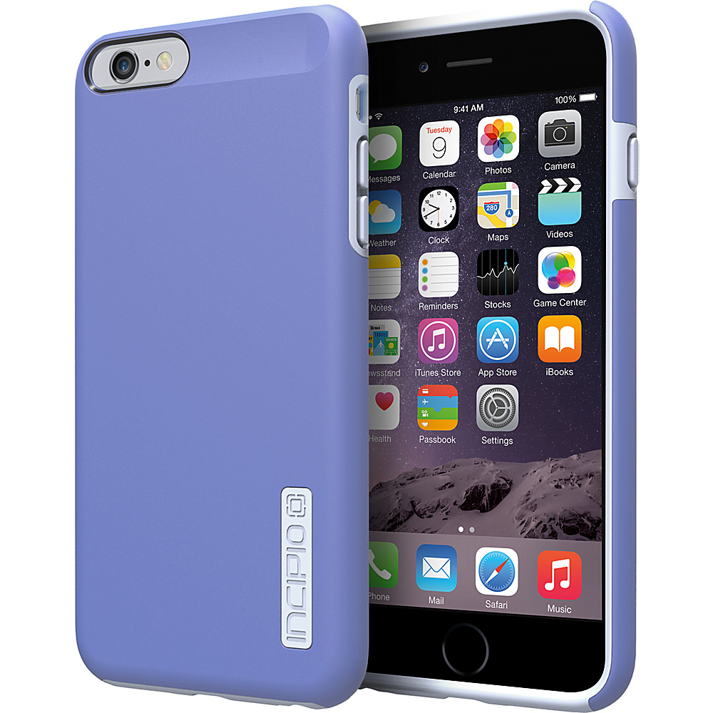 Incipio DualPro iPhone 6 6s Plus Case Periwinkle Haze Blue Incipio Electronic Cases