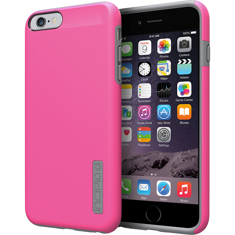 Incipio DualPro iPhone 6/6s Plus Case Pink/Charcoal - Incipio Electronic Cases - Technology, Electronic Cases