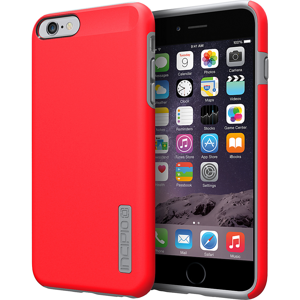 Incipio DualPro iPhone 6/6s Plus Case Red/Charcoal - Incipio Electronic Cases - Technology, Electronic Cases